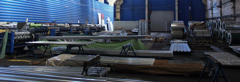 Цех по производству металлочерепицы и профнастила